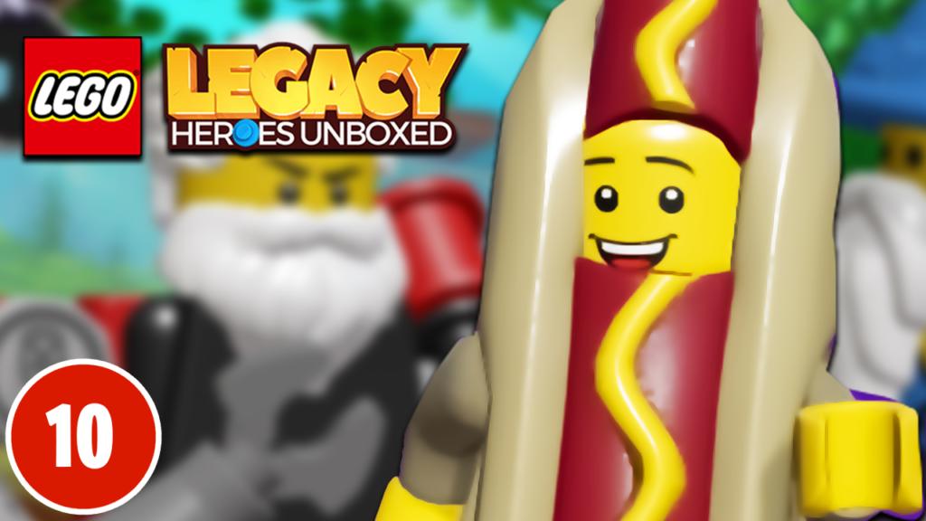 LEGO Legacy Heroes Unboxed - Hot Dog Suit Guy