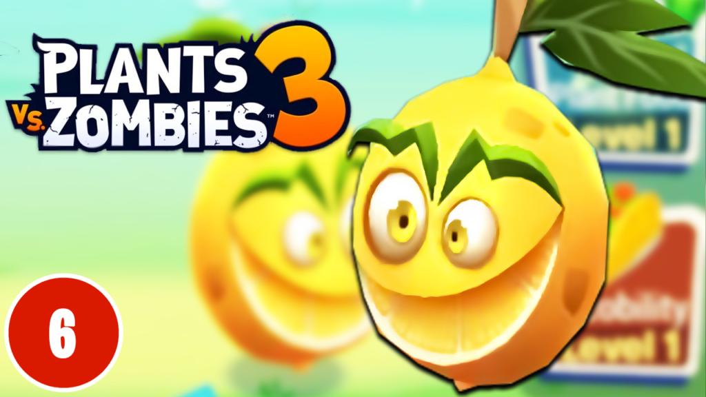 Plants vs Zombies 3 - PvZ 3 - Lemon-Aid