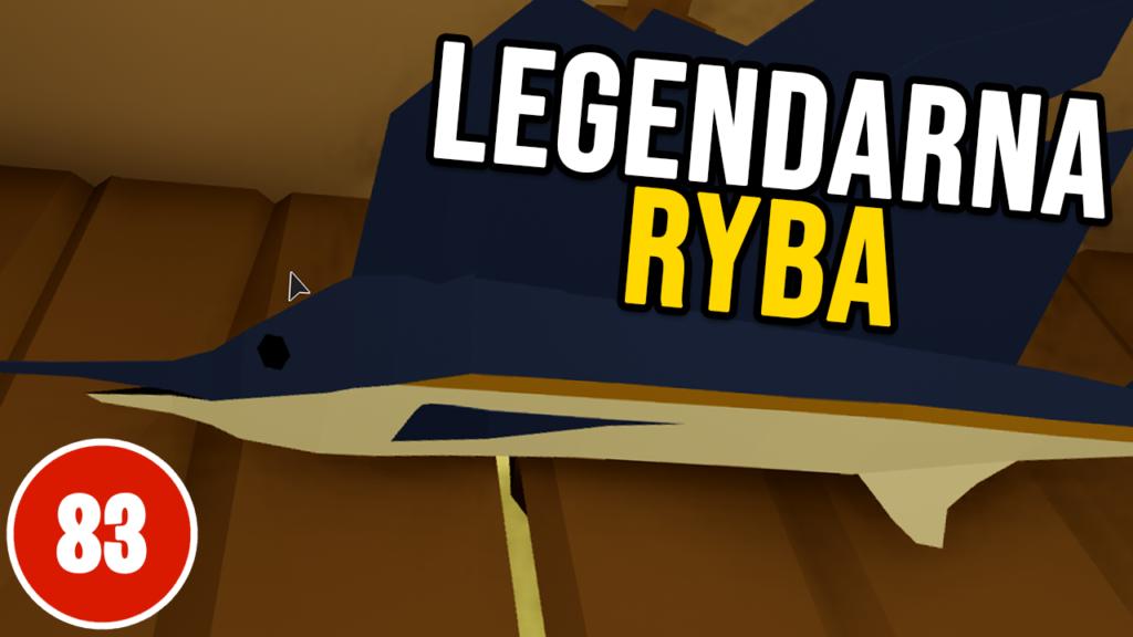 Złowiłem Legendarną Rybę - ROBLOX